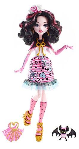 Mattel DTV90 muñeca - Muñecas (Multicolor, Femenino, Chica, 6 año(s), Draculaura, 270 mm)