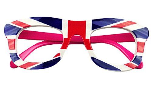 Kreative English Flag-Glas-Rahmen für Kinder-Brille-Rahmen