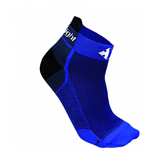 Calze Raidlight R Light sottili Royal Blue/BLK blu