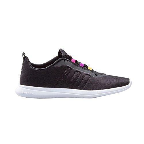 adidas Damen Cloudfoam Pure W Turnschuhe Schwarz (Negbas / Negbas / Ftwbla)