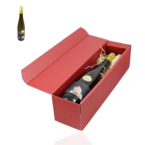 Grauer Burgunder Leonard trocken 2015 er Wein in Geschenkverpackung - ausgezeichnet mit der Goldmedallie von AWC Vienna - edle Weinflasche