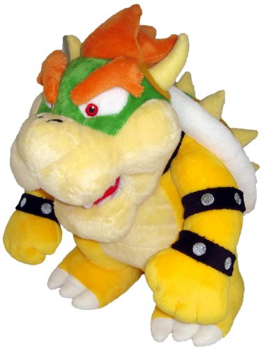 Super Mario - Bowser Plush - 26cm 10""