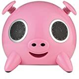 Amethyst iPig Bluetooth Speaker Dock for iPod - Pink