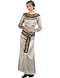 Medieval Princess Elegant Velvet Gold Costume Dress