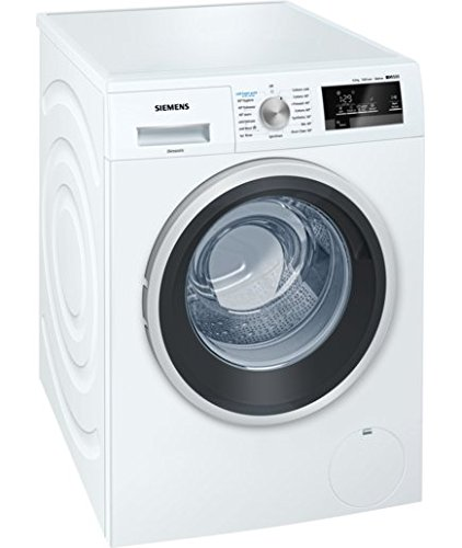Siemens 9kg iQ500 Front loading automatic washing machine WM12P360IN (White)