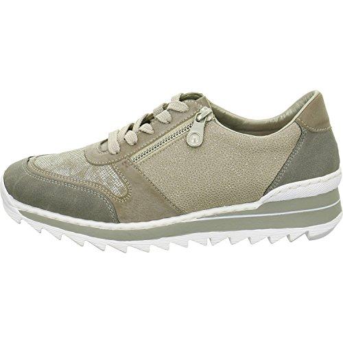 Rieker M6924, Sneakers Basses Femme Gris (staub/Steel/fango-silver/perle-Silber / 42)