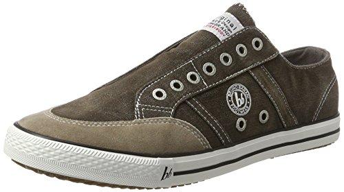 Bruno Banani 831 102, Sneakers basses homme Grau (Khaki)