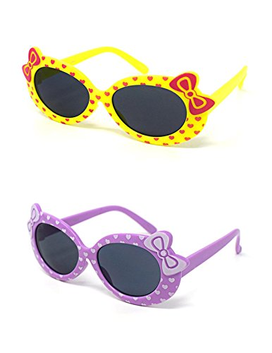 chen 1 lila 1 Gelbe stilvolle Hello Kitty Style UV400 Sonnenbrille Schattierungen (Hello Kitty Begünstigt)