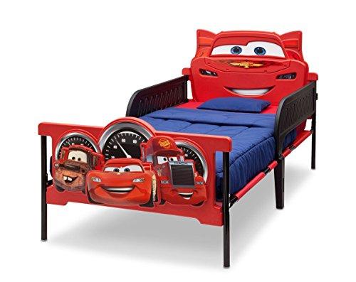 Disney Cars 3D Bett 200 x 100 cm Kunststoff u Metall Kinderbett Kinderzimmer Kindermöbel Jugendbett