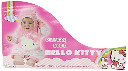 Kostüm Gatita - Disfraces Josman - Disfraz hello kitty bebé talla 0-6 meses