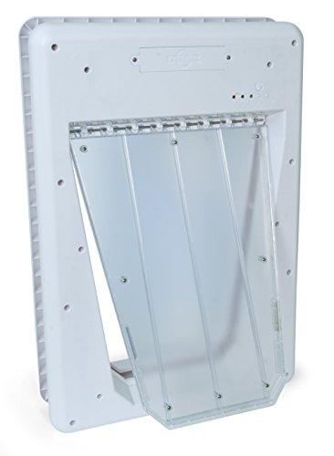 PetSafe, SmartDoor, elektrische Haustierklappe, individuelle Eintritts- Austrittskontrolle, 3 Verschlussoptionen, 63 cm x 43,80cm