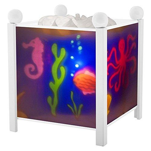 Trousselier Nachtlicht/Magische Laterne Meer-Farben zur Auswahl