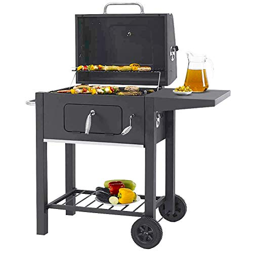 garden mile® Large Trolley BBQ C...