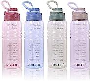 2l Trinkflasche Sport Wasserflasche Flasche BPA Frei Gym Auslaufsicher Flasche wasserflasche 2 Liter De22