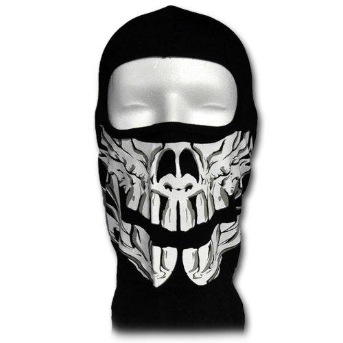 WINDMASK Sturmhaube - Totenkopf Fang Skull