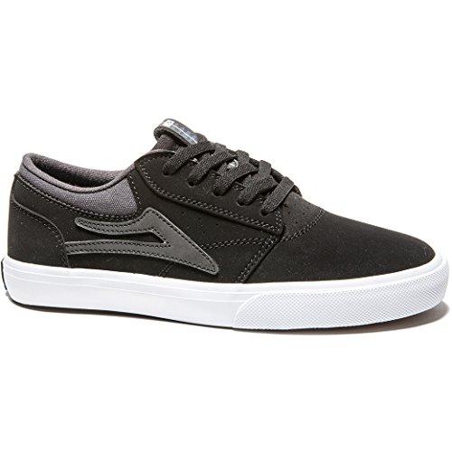 Lakai , Chaussures de skateboard pour garçon Noir Noir/synthétique Noir/synthétique