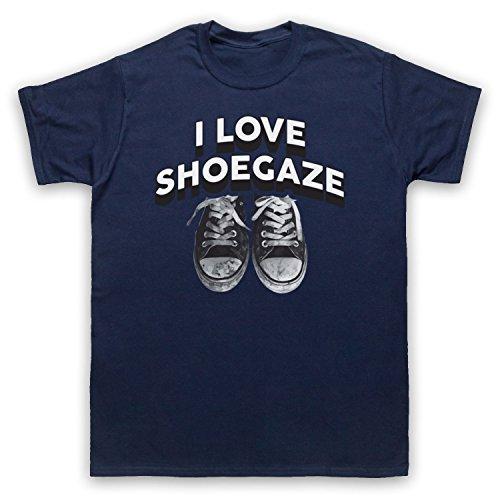 I Love Shoegaze Indie Alternative Rock Fan Herren T-Shirt Ultramarinblau