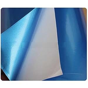 Vinyl sheet 2ft X 2ft (blue,black)