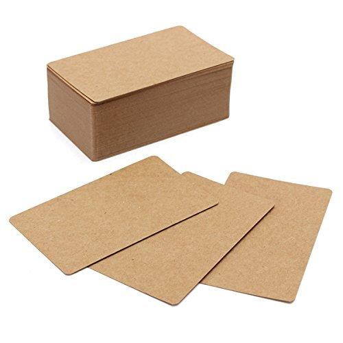 papier-kraft-marron-lot-de-100cartes-double-face-diy-vierge-kraft-carte-message-memo-note-pad-tiquet