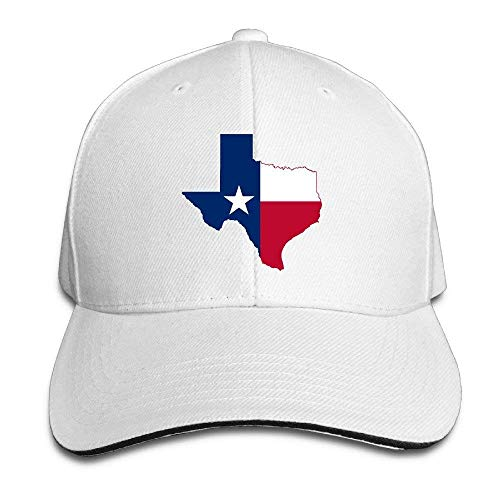 Zhgrong Unisex Dyed Cotton Adjustable Peaked Baseball Cap Texas Flag Map Dad Trucker Hat Flexfit Cap Pro Trucker Hut