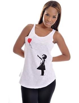 S-Ponder - Camiseta sin mangas - Sin mangas - para mujer