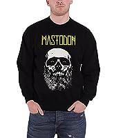 Mastodon Sweatshirt band logo Admat beared skull new Official Mens Black
