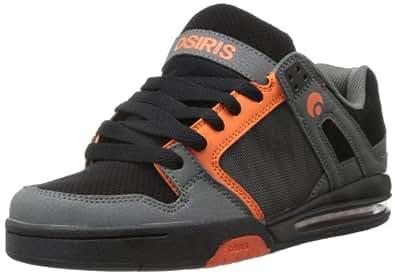 Osiris  Pixel, Sport Lifestyle lacets mixte adulte - gris - Charcoal/Black/Orange,
