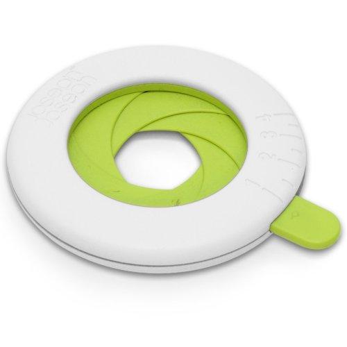 Joseph joseph dosa spaghetti regolabile, colori: bianco e verde
