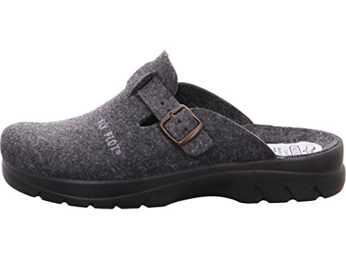 Fly Flot , Chaussons Mules homme Anthracite