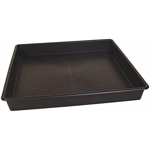 In plastica rigida, Extra-Large profonda, vassoio per l'acqua con beccuccio, capacità: 100 litri