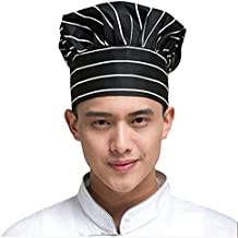 Malloom-Gorra de Cocinero con Estilo Seta Chef de Cocina Sombrero de Hotel  Bar Restaurante 21341ad674a