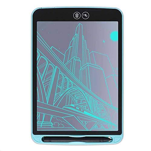 LIGUOPIN Tavoletta Grafica Scrittura Tablet LCD con Penna Wireless,Pulsante di Blocco dello Schermo, Non Riflettenti,per Insegnante, Studenti, Progettista, ImprenditoreBlue-10 Inches