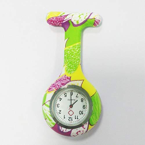 Tuniya Krankenschwester Uhr Brosche Fob Uhr hängen Taschenuhr Tunika Quarzwerk Uhr Ärzte Pflege Uhr Clip-on Medical Watch