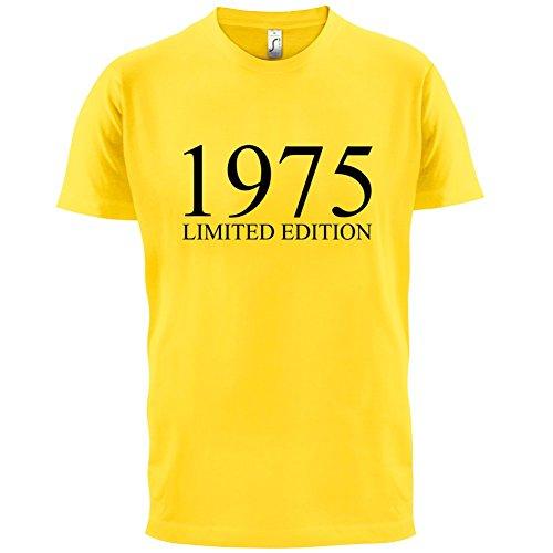 1975 Limierte Auflage / Limited Edition - 42. Geburtstag - Herren T-Shirt - 13 Farben Gelb