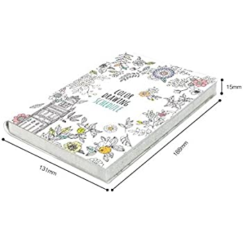 """'Color Therapy' Coloring Books Monthly Weekly Daily Planners Academic Planner Organizer Agenda, 114 Sheets, 5.1"""" X 7.4"""" by b_odd supplies"""