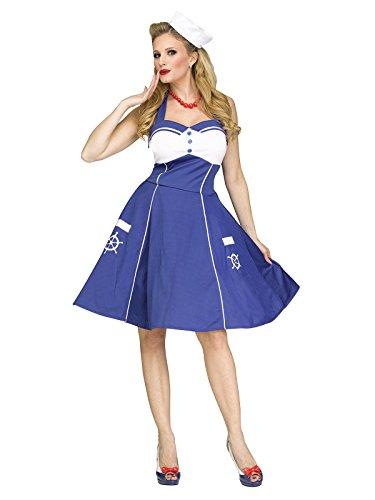 generique Costume marinaio anni 50 per donna S / M