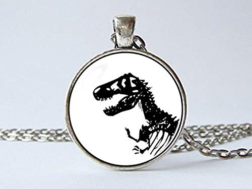 T Rex dinosaurio collar colgante Animal collar