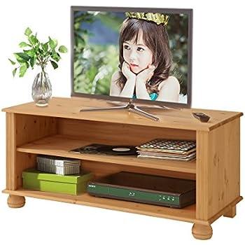 good macon tvlowboard tvbank wohnzimmer mbel x cm kiefer massiv gebeizt gelt with tv tisch kiefer