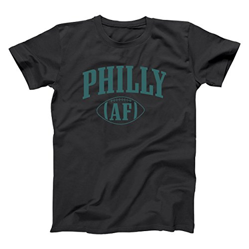 Xzc funny threads outlet philly af philadelphia football mens shirt