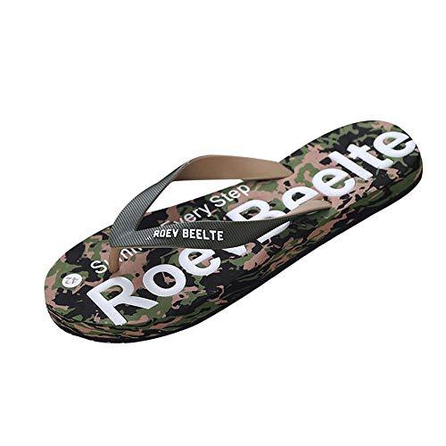 Kostüm Männliche Flapper - Amlaiworld Herren Hausschuhe Männer Sommer Camouflage Schuhe Sandalen Männlichen Slipper Innen Oder Outdoor Flip-Flops