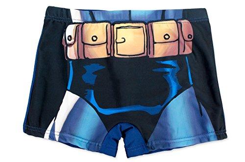 Justice League Bañador Boxer - para niño - 910-56X [Azul - 10 años - 140 cm]