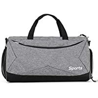 Oshide Sports Fitness Bag Hombres y mujeres Bolsos de hombro Paquete de equipaje Artículo seco y húmedo Bolsa de separación para hombres Bolsa de mensajero para hombres Bolsa de deporte deportiva