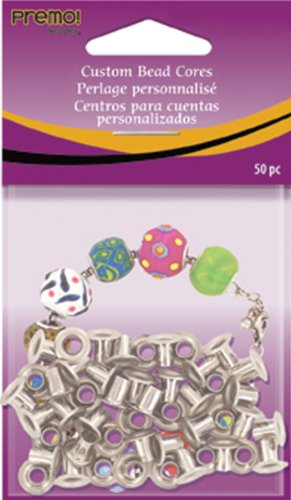 Polyform Metall Premo Sculpey Custom Bead cores- -