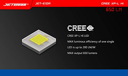 Jetbeam E10R Mini Taschenlampe - 9
