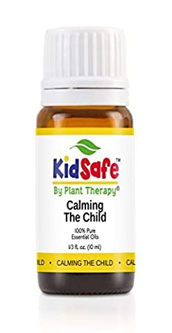 Calming the Child Synergy Essential Oil Blend. 10 Ml. 100% Pure, Undiluted, Therapeutic Grade. (Blend Of: Lavender, Tangerine, Mandarin and Roman Chamomile) by Plant Therapy Essential