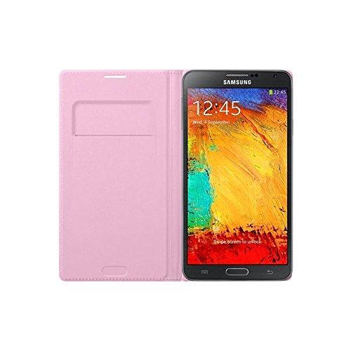 Samsung EF-WN900BIEGWW Flip Wallet per Galaxy Note 3, Rosa
