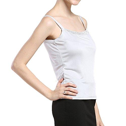 Paradise Silk - Canottiera -  donna White