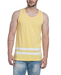 Alan Jones Solid Mens Cotton Vest