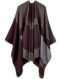 AFBLR sciarpa bavaglino Sciarpa invernale jacquard da uomo con scialle  invernale ecfa3f690475