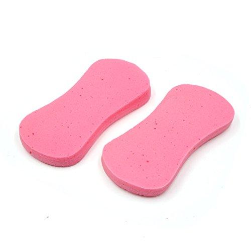 sourcingmap 5Stk. rosa 8 geformt waschen expandieren Schwamm Reinigungsmittel für Auto